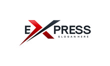 Fast Forward Express Logo Desi...