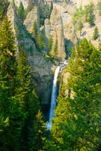 Tower Falls Yellowstone Park