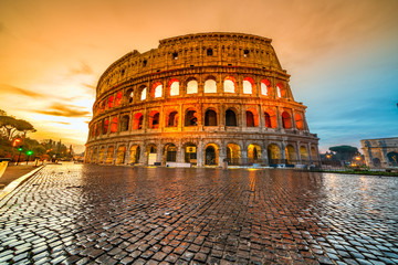 Fototapeta Rome, Coliseum. Italy.