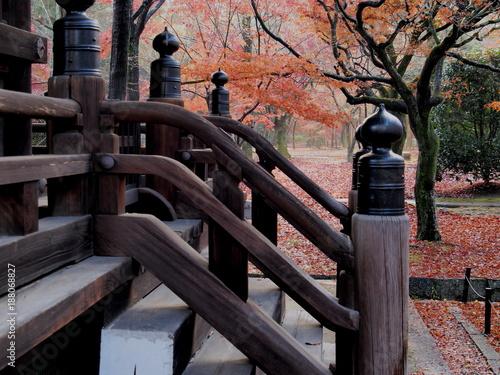 Papiers peints Corail 秋の京都