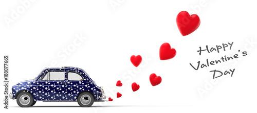 Obraz na plátně San Valentine's Day. All you need is love.