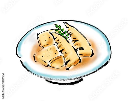 竹の子の煮物 Adobe Stock でこのストックイラストを購入して