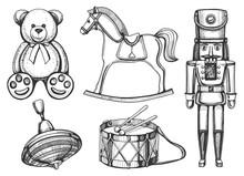 Vintage Toys Set