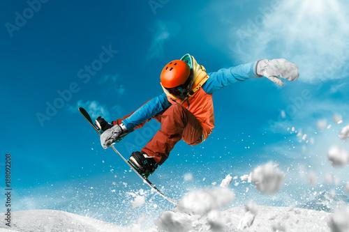 Obrazy Sporty Zimowe  snowboarding