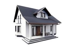 House 3d Modern Style Renderin...