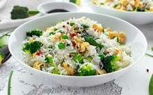 Fried Rice With Vegetables, Br...