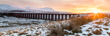 Sunset Over The Ribblehead Via...