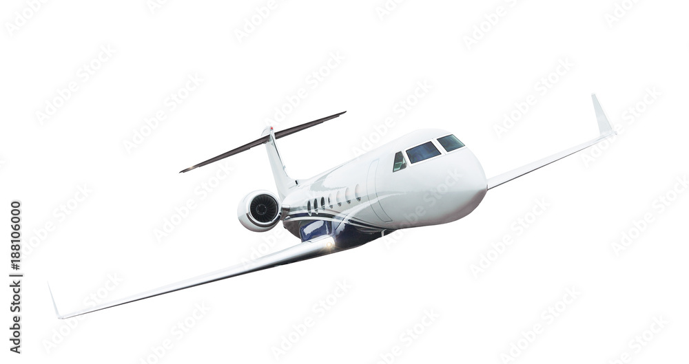 Fototapety, obrazy: Airplane isolated on white background