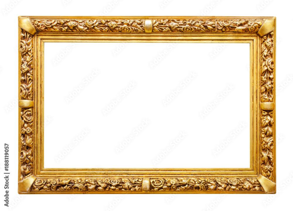 Fototapeta Golden frame