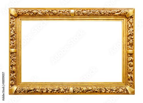 Obraz Golden frame - fototapety do salonu