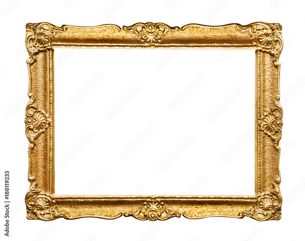Fototapety, obrazy: Carved picture frame
