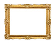 canvas print picture - Carved picture frame