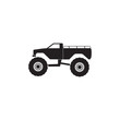 monster trucks icon. Monster trucks element icon. Premium quality graphic design icon. Baby Signs, outline symbols collection icon for websites, web design, mobile app