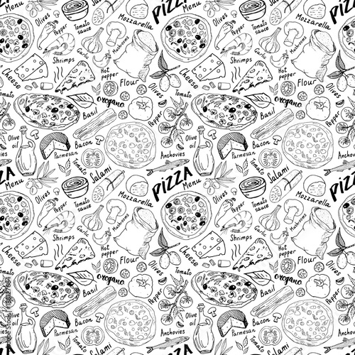 pizza-seamless-pattern-hand-drawn-sketch-pizza-doodles-food-background-with-flour-and-other