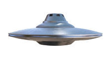 UFO - Alien Spaceship Isolated...