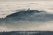 Berg über Den Wolken - Brockenblick Auf Wurmberg