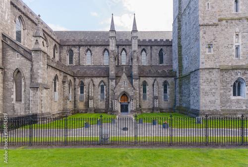 Zdjęcie XXL Widok z boku katedry Świętego Patryka z St Patrick's