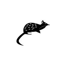 The Marsupial Marten Icon. Ele...
