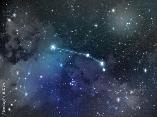 Aries constellation star Zodiac