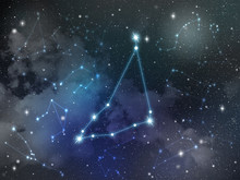 Capricorn Constellation Star Z...