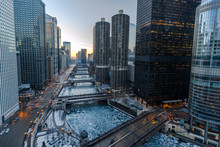 Chicago Downtown River Bridges...