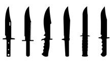 Knives Silhouette Set