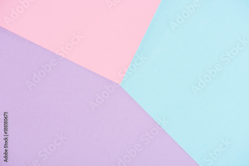 Obraz background made of pastel colors papers - fototapety do salonu