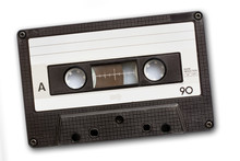 Audio Cassette Tape Isolated O...
