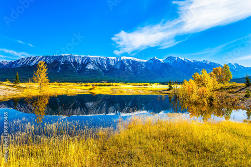 Foto  Lake Abraham in the Indian Summer