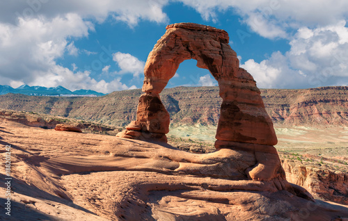 Poster Parc Naturel Delicate Arch - Amazing rock formation at Arches National Park, Utah, USA.