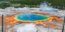 Panorama Of Grand Prismatic Sp...