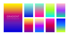 Abstract Set Of Modern Bright ...