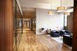 Leinwanddruck Bild - Empty lounge and meeting area in luxury business premises