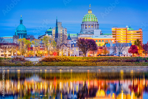 Harrisburg, Pennsylvania, USA Slika na platnu