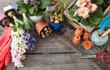canvas print picture - Frische Blumen im Fruehjahr