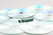 USB-Stick und CD DVD Rohlinge