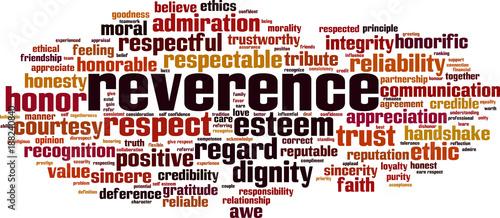 Tela Reverence word cloud
