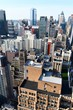 Manhattan view from the top, NYC