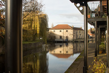 The End Of The Ripon Canal.