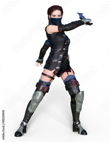 Poster Militaire 女性剣士