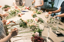 Master Class On Making Bouquet...