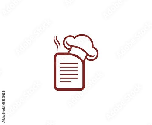 Fototapeta Chef logo obraz