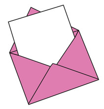Blank Valentines Day Letter