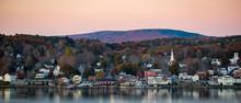 New England Town Across The Ri...