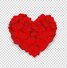 Big Red Heart Made Of Small He...