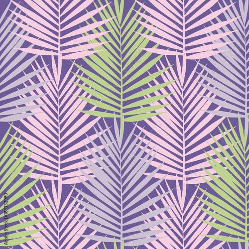 rozowe-i-zielone-liscie-na-fioletowym-tle