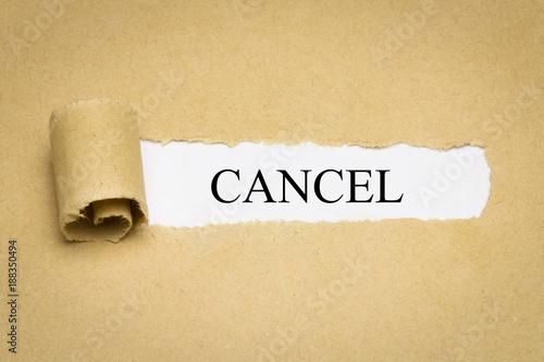 Photo Cancel