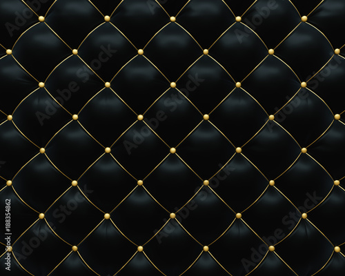 Fototapety, obrazy: Luxorious leather sofa upholstery