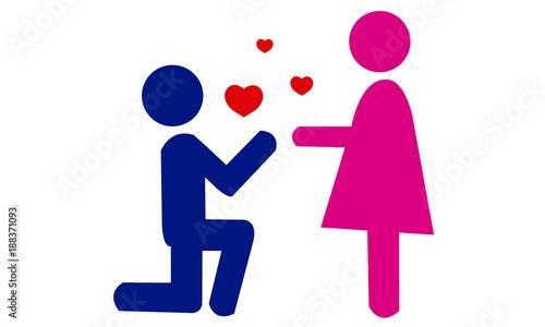 Fotografie, Obraz Declaración de amor