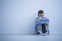 Young Boy With Hypersensitivity